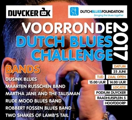 Dutch Blues Challenge Hoofddorp