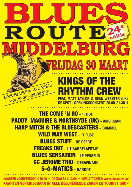 Bluesroute Middelburg